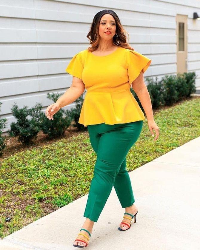 З чим носити яскраві штани ранньої осені 2021: модні поєднання 17
