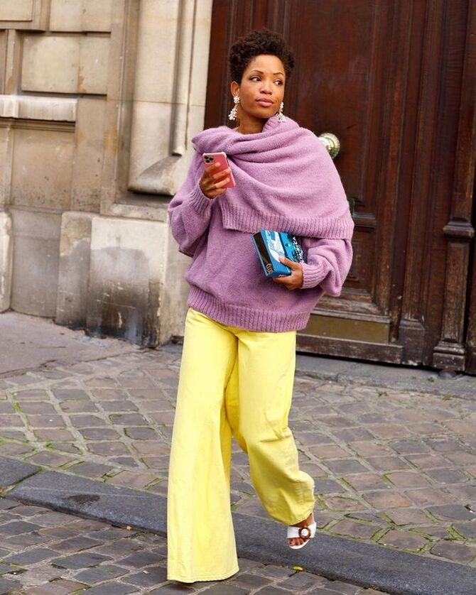 З чим носити яскраві штани ранньої осені 2021: модні поєднання 20