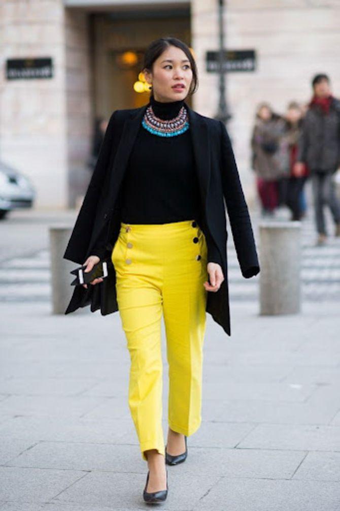 З чим носити яскраві штани ранньої осені 2021: модні поєднання 21