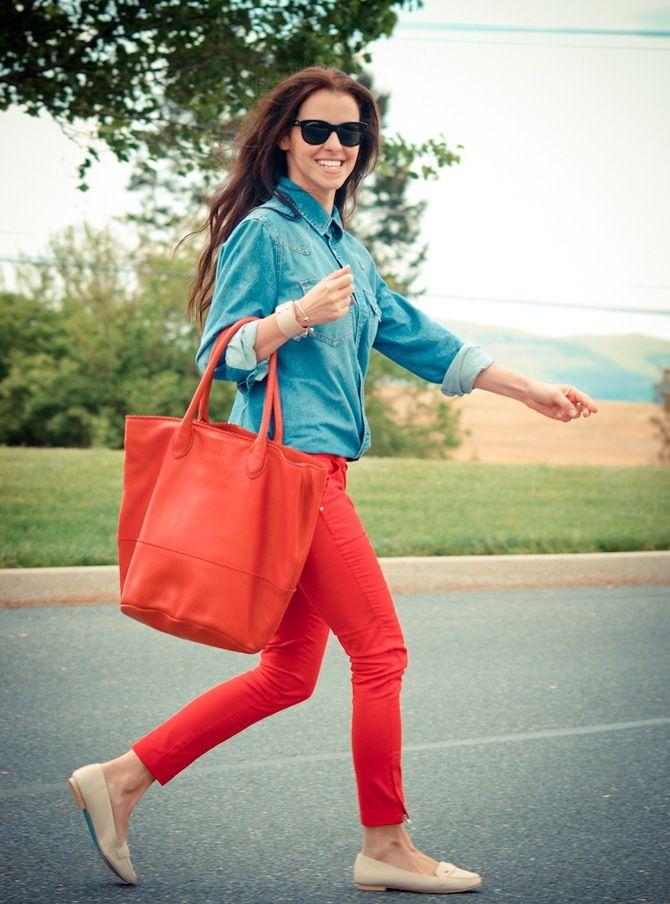З чим носити яскраві штани ранньої осені 2021: модні поєднання 22