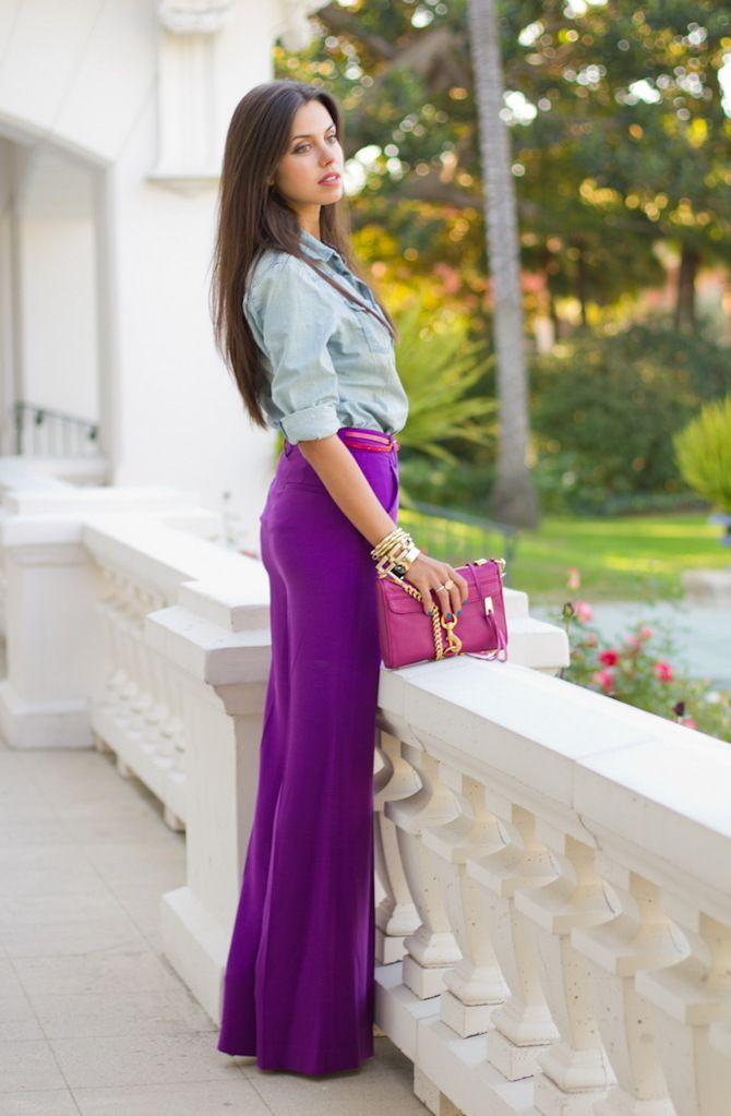 З чим носити яскраві штани ранньої осені 2021: модні поєднання 23
