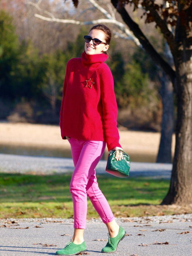 З чим носити яскраві штани ранньої осені 2021: модні поєднання 24