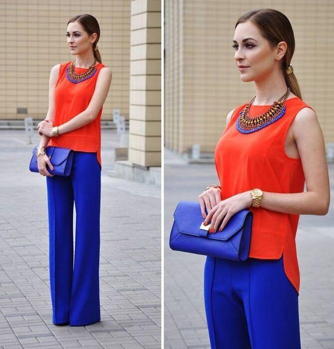 З чим носити яскраві штани ранньої осені 2021: модні поєднання 25