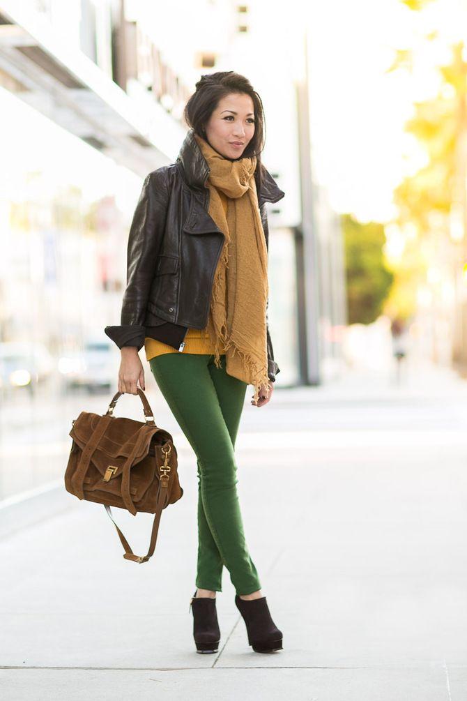 З чим носити яскраві штани ранньої осені 2021: модні поєднання 31