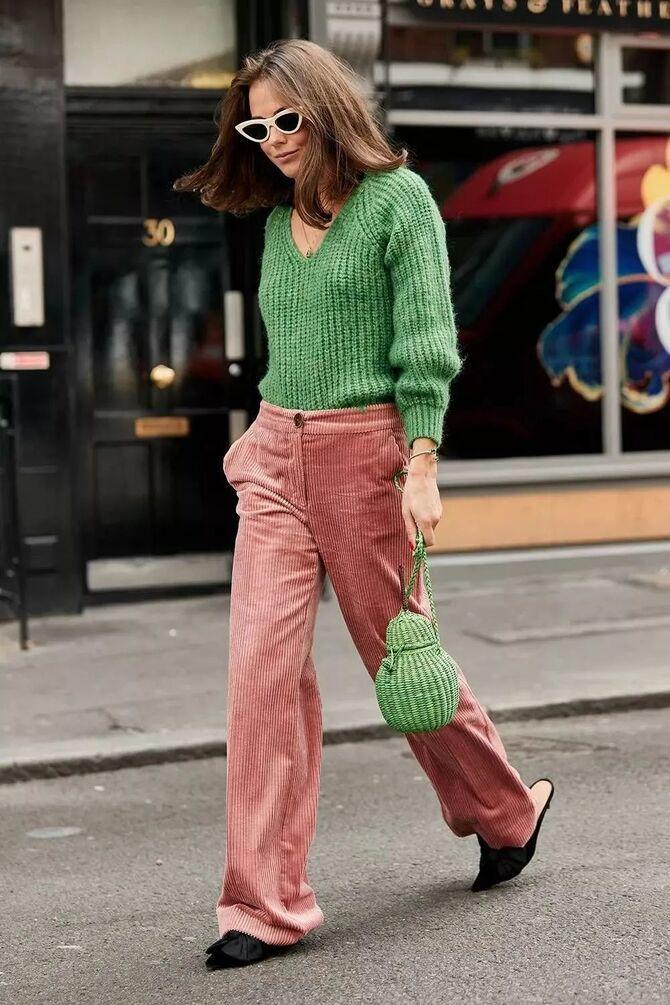 З чим носити яскраві штани ранньої осені 2021: модні поєднання 34