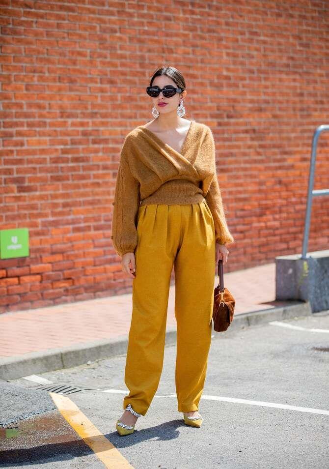 З чим носити яскраві штани ранньої осені 2021: модні поєднання 35