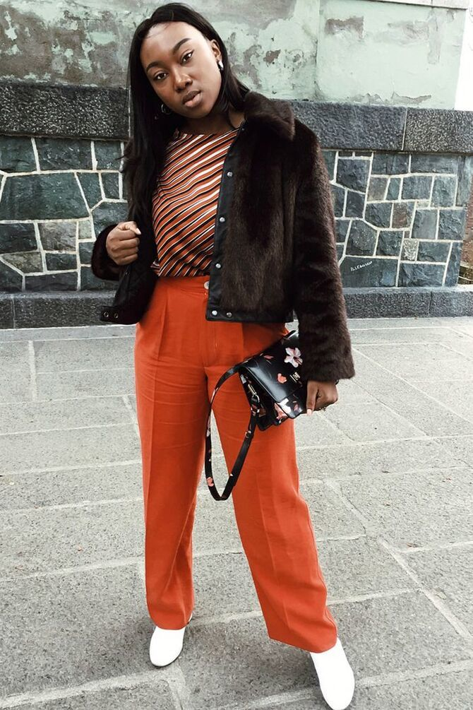 З чим носити яскраві штани ранньої осені 2021: модні поєднання 41