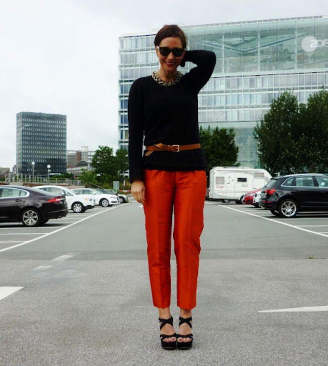З чим носити яскраві штани ранньої осені 2021: модні поєднання 42