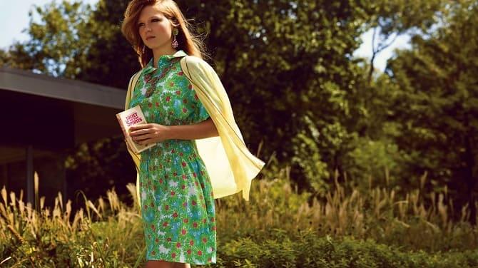 Как носить зеленые платья: модные и необычные образы 12
