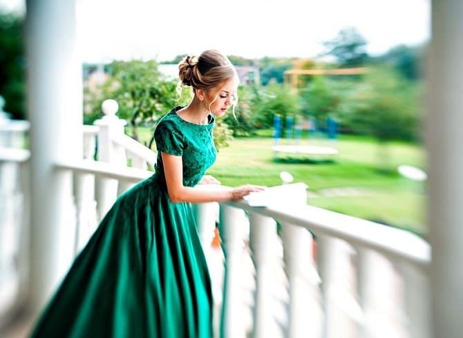 Как носить зеленые платья: модные и необычные образы 17