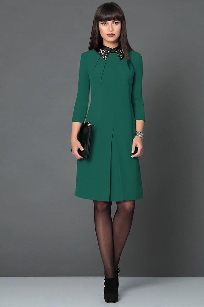 Как носить зеленые платья: модные и необычные образы 21