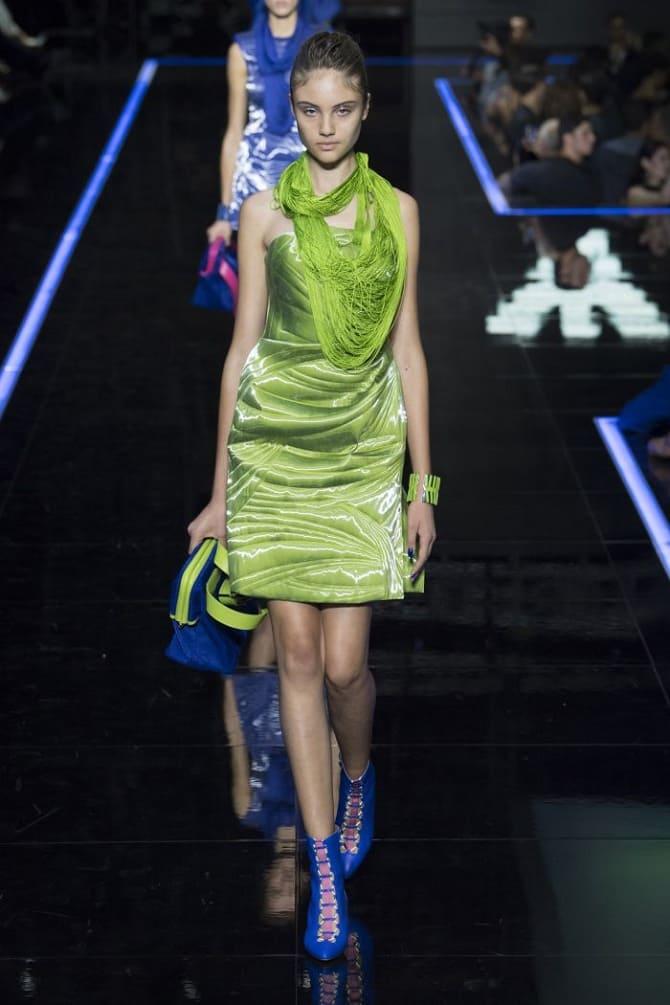 Как носить зеленые платья: модные и необычные образы 1
