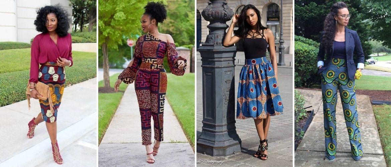 Африканский принт — как ввести колорит в свои образы