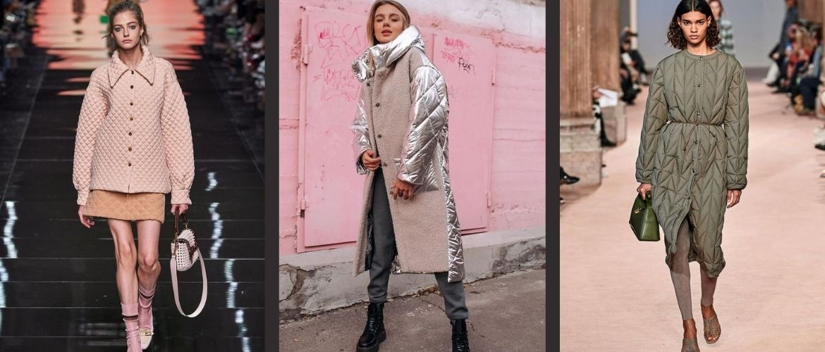 The most beautiful quilted jackets for the autumn-winter season 2021-2022: what should fashionistas choose?