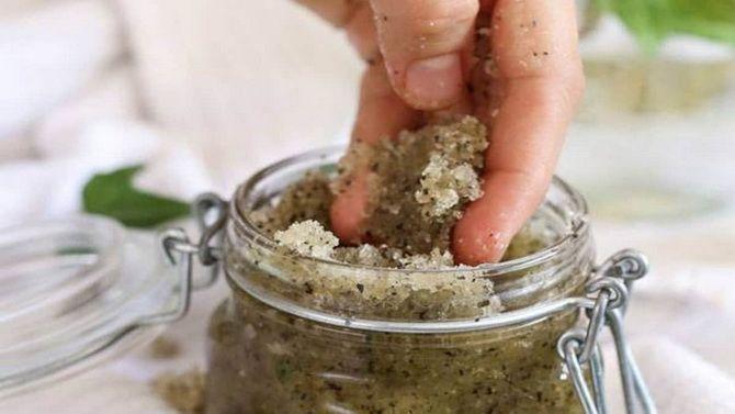 Скраб для кожи головы — 4 домашних средств из натуральных продуктов 2