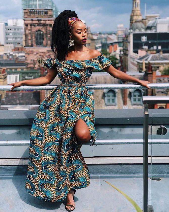 Африканский принт — как ввести колорит в свои образы 15