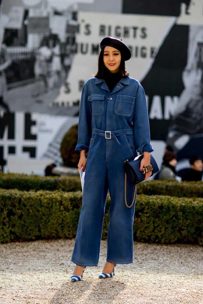 Джинсові комбінезони: як носити модний тренд з 90-х? 11