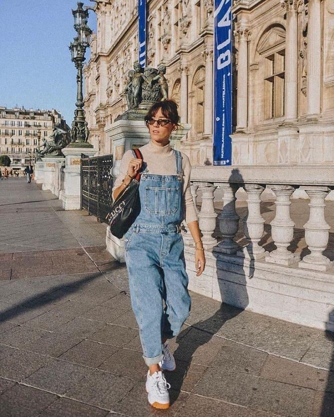 Джинсові комбінезони: як носити модний тренд з 90-х? 12