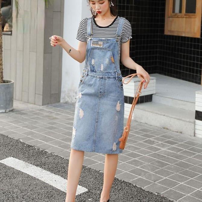 Джинсові комбінезони: як носити модний тренд з 90-х? 3
