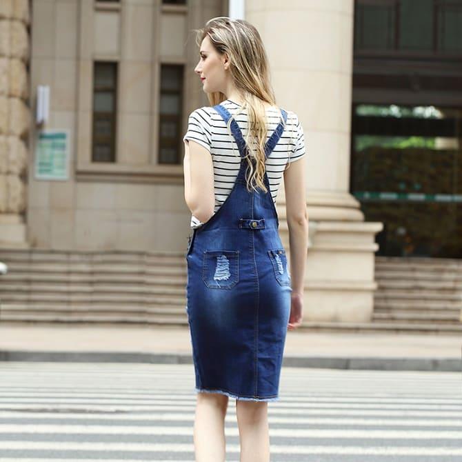 Джинсові комбінезони: як носити модний тренд з 90-х? 4