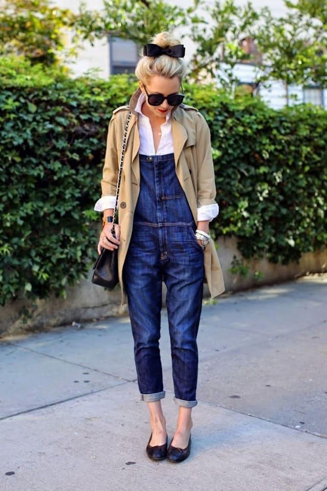 Джинсові комбінезони: як носити модний тренд з 90-х? 6