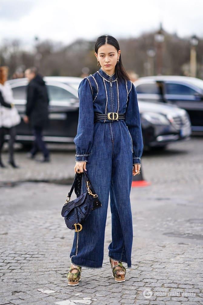 Джинсові комбінезони: як носити модний тренд з 90-х? 7