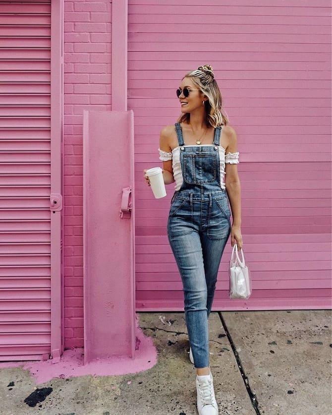 Джинсові комбінезони: як носити модний тренд з 90-х? 10