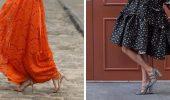 Как правильно подобрать обувь к платью