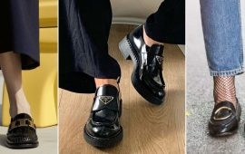 С чем носить черные лоферы — идеи для модных образов