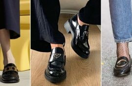 What to wear with black loafers – ideas for fashionable looks