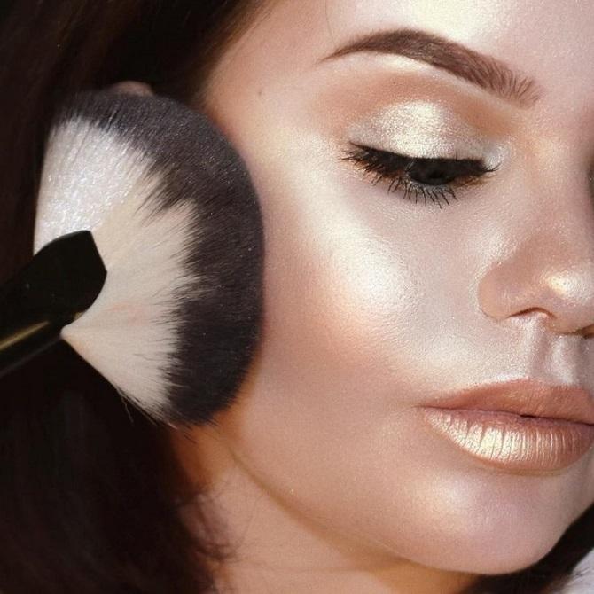 Свіжий і красивий макіяж: як користуватися хайлайтером і наносити його 2