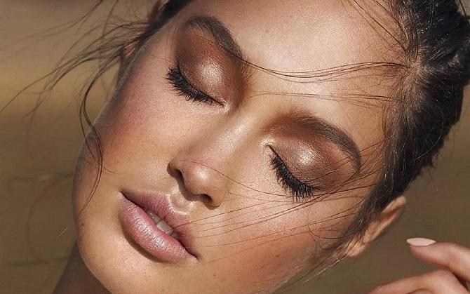 Свіжий і красивий макіяж: як користуватися хайлайтером і наносити його 4