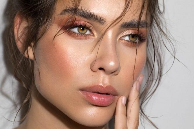 Свіжий і красивий макіяж: як користуватися хайлайтером і наносити його 1