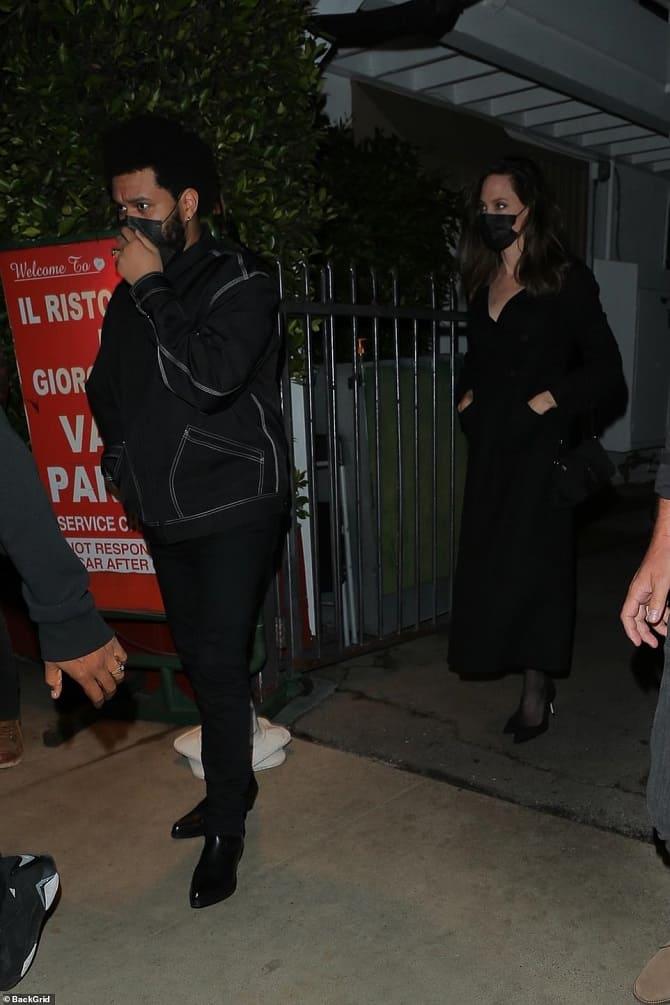 Анджелина Джоли и The Weeknd снова подогрели слухи о своем романе: пара встречается? 2
