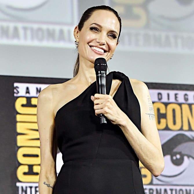 Анджелина Джоли и The Weeknd снова подогрели слухи о своем романе: пара встречается? 6