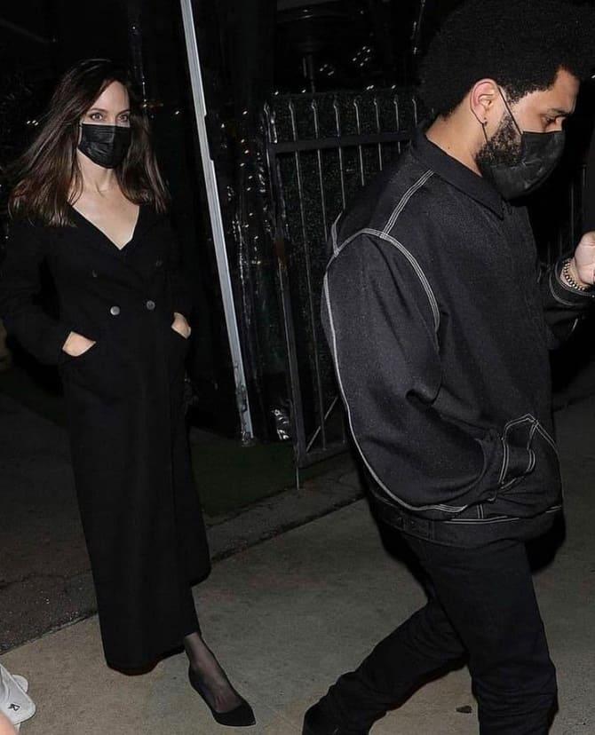 Анджелина Джоли и The Weeknd снова подогрели слухи о своем романе: пара встречается? 1