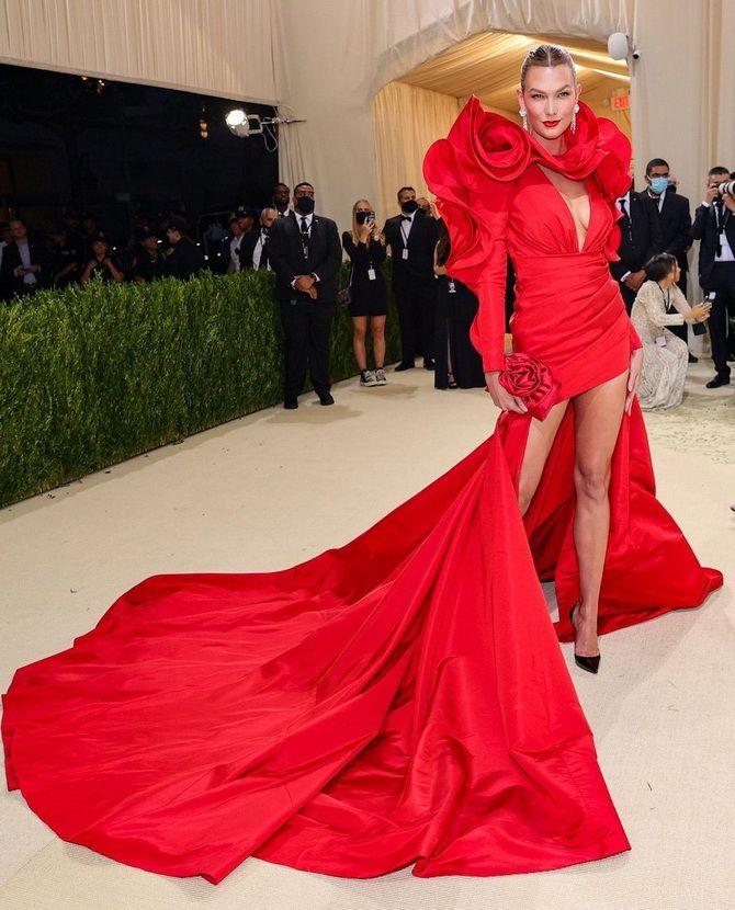 Met Gala 2021 – вбрання зірок на червоній килимовій доріжці 4