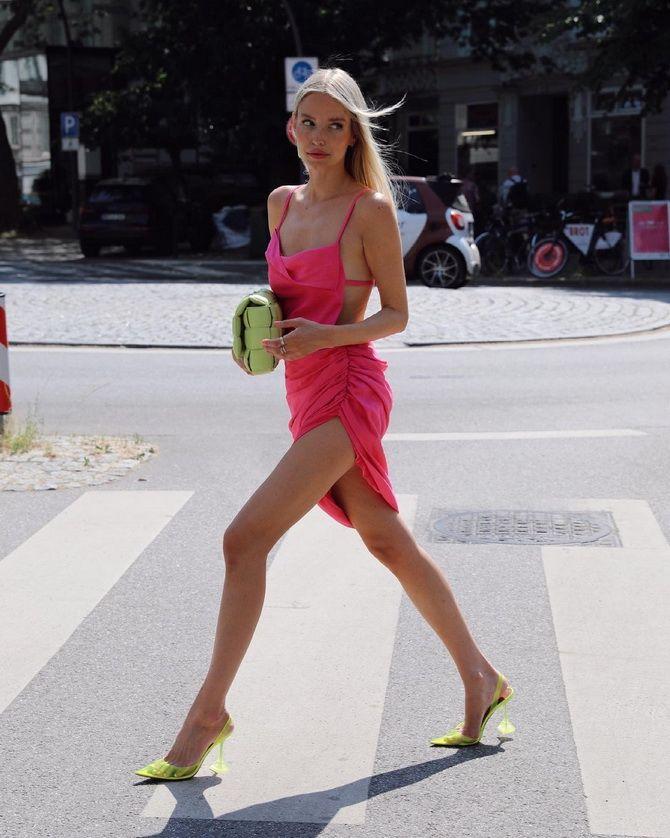 Як правильно підібрати взуття до сукні 4