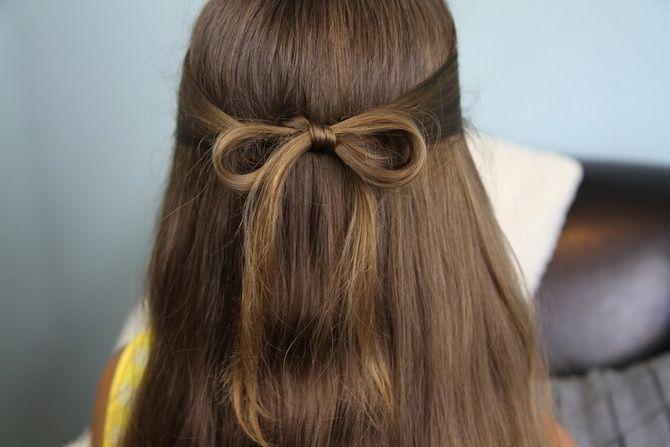 Модные и легкие прически на длинные волосы для девочек в школу: идеи на каждый день 2