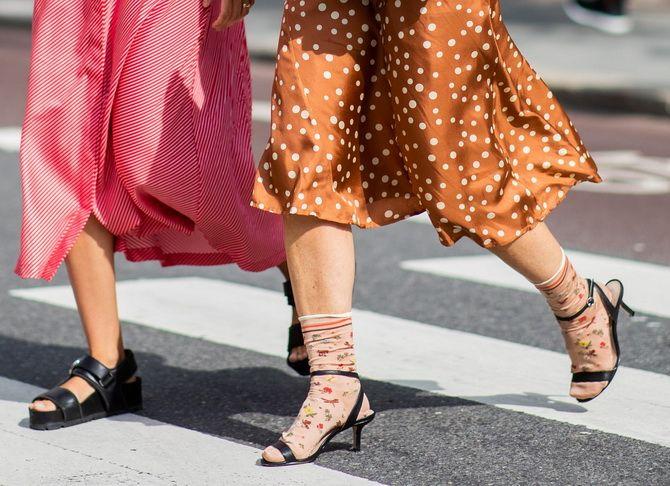 Шкарпетки з відкритим взуттям – як носять цей суперечливий тренд 19
