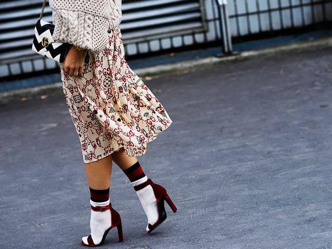 Шкарпетки з відкритим взуттям – як носять цей суперечливий тренд 11