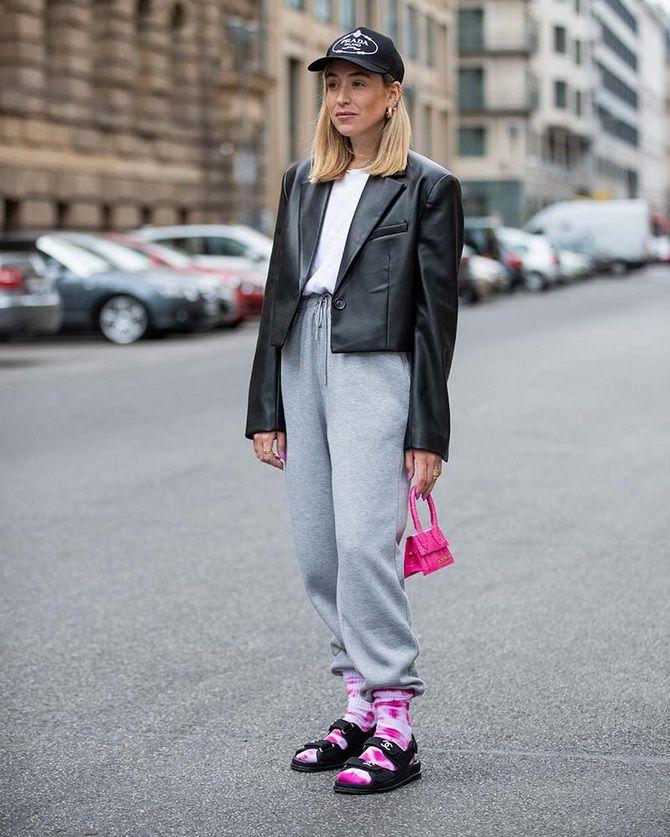 Шкарпетки з відкритим взуттям – як носять цей суперечливий тренд 9