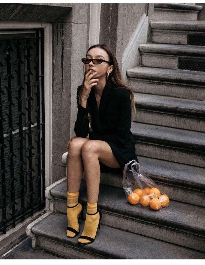 Шкарпетки з відкритим взуттям – як носять цей суперечливий тренд 13