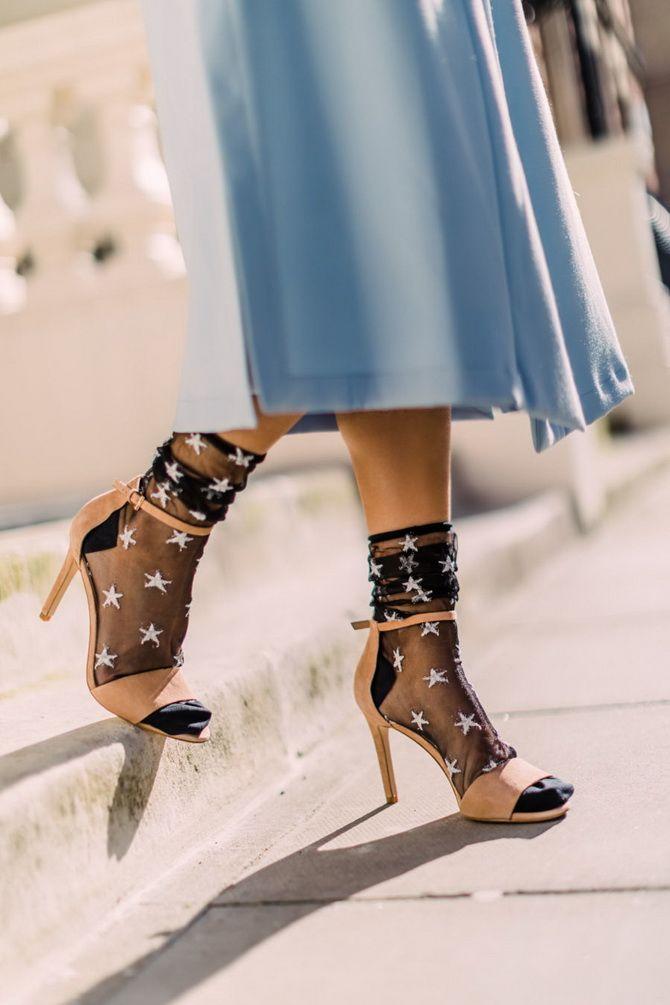 Шкарпетки з відкритим взуттям – як носять цей суперечливий тренд 14