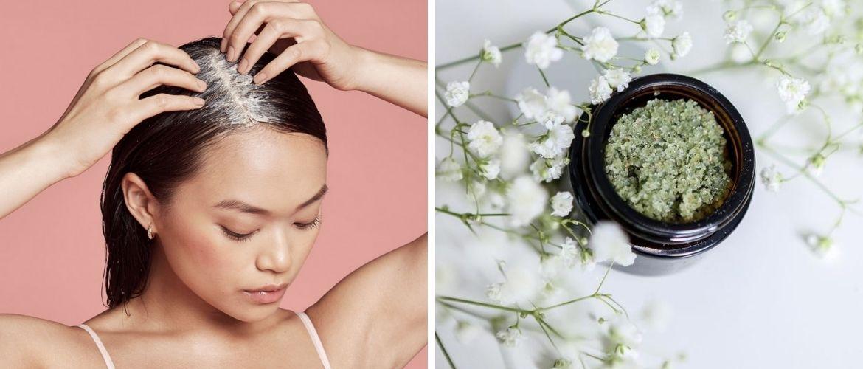 Скраб для кожи головы — 4 домашних средств из натуральных продуктов