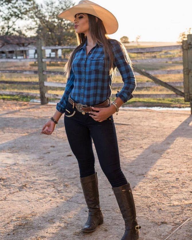 Образ ковбойки: стиль кантрі в жіночому одязі 15