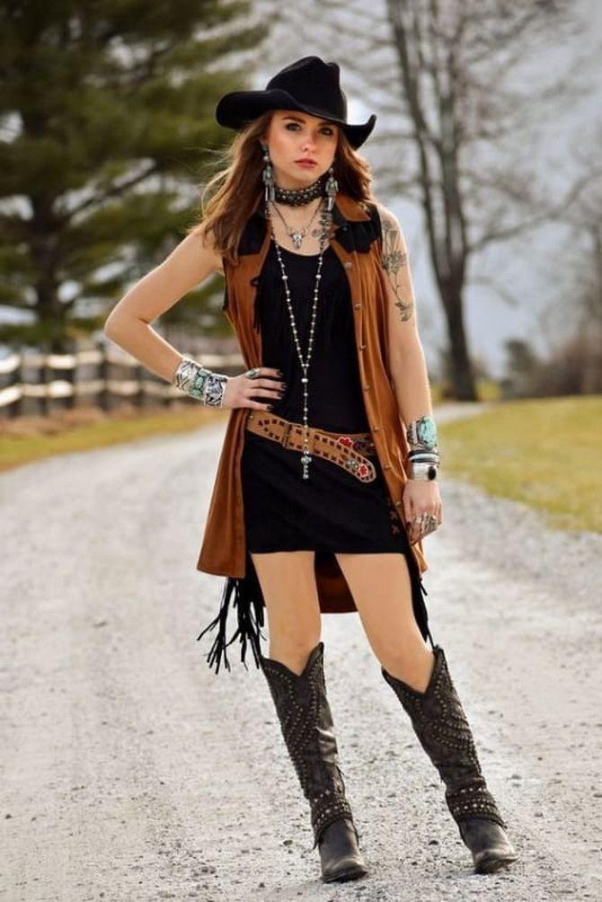 Образ ковбойки: стиль кантрі в жіночому одязі 3