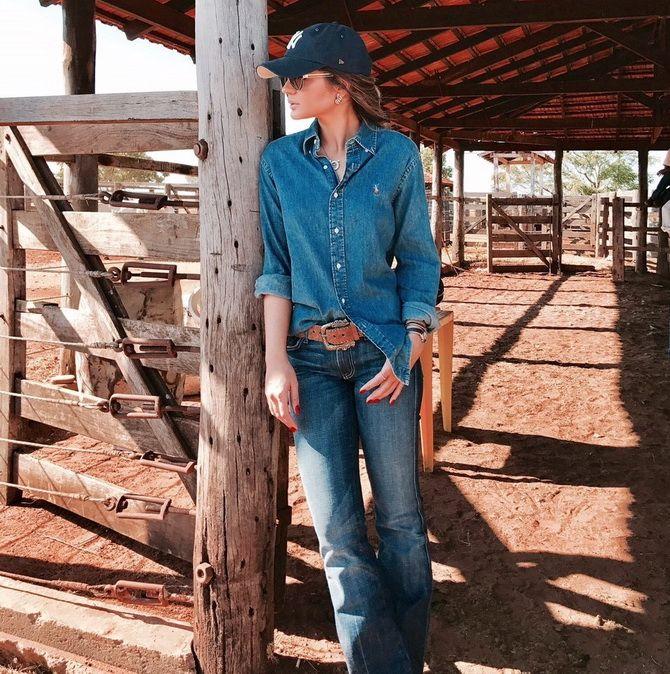 Образ ковбойки: стиль кантрі в жіночому одязі 18