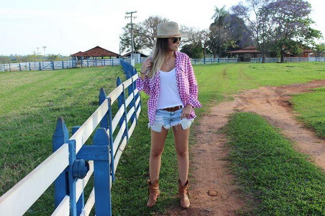 Образ ковбойки: стиль кантрі в жіночому одязі 20