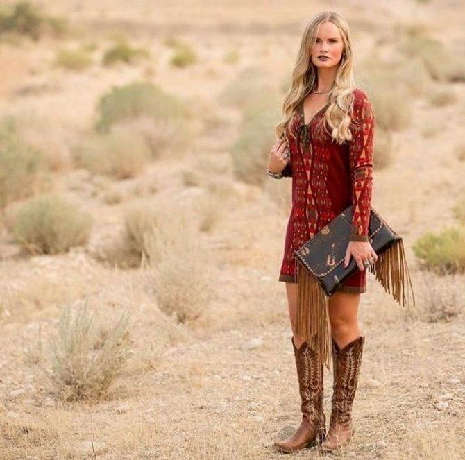 Образ ковбойки: стиль кантрі в жіночому одязі 5